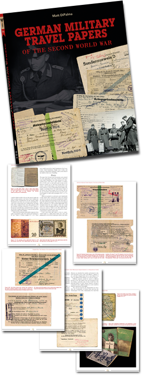 German Military Travel Papers